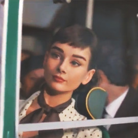 Audrey Hepburn - 2013 Galaxy Chocolate Commercial
