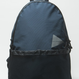 "and wander - and wander FOR 1LDK 20L DAYPACK ""NAVY"""