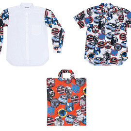 COMME des GARCONS SHIRT - COMME des GARCONS SHIRT x Star Wars Spring/Summer 2013 Collection