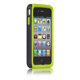 Case-Mate - iPhone 4S/4 Hybrid Tough Case Black Green