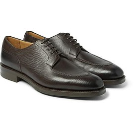 Edward Green - Dover Cross-Grain Leather Derby Shoes