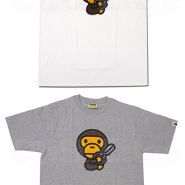 A BATHING APE - MILO SHEARS Tシャツ