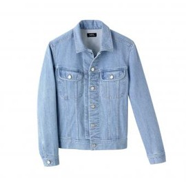 A.P.C. - JACKET IN HEAVYWEIGHT DENIM