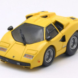 チョロQ - Lamborghini Countach LP400 HandMade Elaborate Refined LTD Model Kit