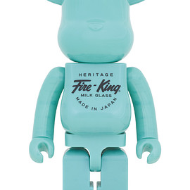 MEDICOM TOY - BE@RBRICK Fire-King 1000%(JADE-ITE)