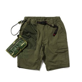 Gramicci, BEAMS, BRIEFING - Cargo Shorts - Moss