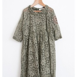 bobo choses - Dress 50´s Style lace & patch