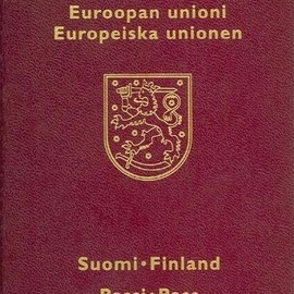 FINLAND - PASSPORT / NATIONALITY