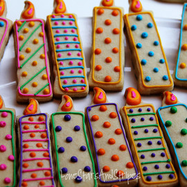 candle cookies