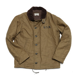 THE REAL McCOY'S - N-1 DECK JACKET (KHAKI)