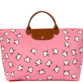 "LONGCHAMP - JEREMY SCOTT x LONGCHAMP ""BONES"" PLIAGE BAG"