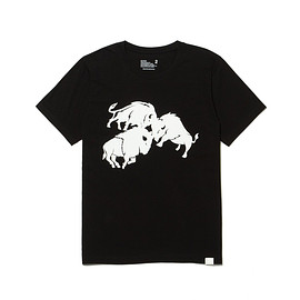 White Mountaineering - BUFFALO PRINTED T-SHIRT