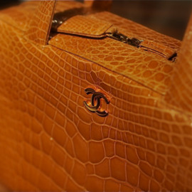 CHANEL - Bag / Crocodile