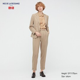 UNIQLO - WOMEN INES DE LA FRESSANGE Wool Blend Trousers
