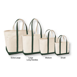 L.L.Bean - boar&tote bag, open top darkgreen