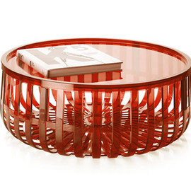 Panier - Tables (Orange) by Ronan and Erwan Bouroullec