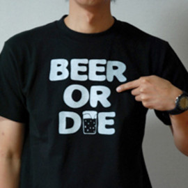 6jumbopins - BEER OR DIE Tシャツ