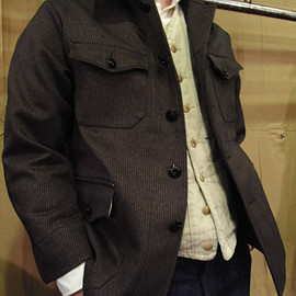 GARMENT REPRODUCTION OF WORKERS - HUNTING JACKET