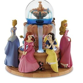 Disney Princess Snowglobe Musical Wishing Fountain