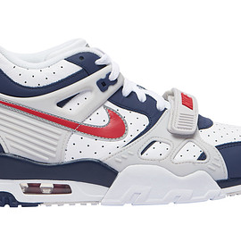 NIKE - Air Trainer 3 - Midnight Navy/University Red/White