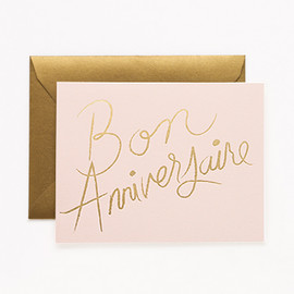 Rifle Paper co. - French Happy Birthday Card
