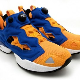 Reebok - Insta Pump Fury - Orange x Blue
