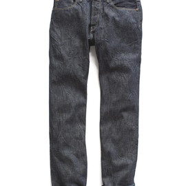 Japanese Selvage Straight Leg Jean