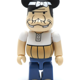 MANGART BEAMS T, MEDICOM TOY, Fujio Productions - 赤塚不二夫 meets MANGART BEAMS T バカボンのパパ BE@RBRICK