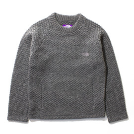 THE NORTH FACE PURPLE LABEL - Wool Fleece Crew Sweater