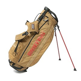 BRIEFING - BRIEFING × BEAMS GOLF / CADDIE STAND BAG COYOTE