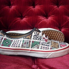 vans - WMNS AUTHENTIC(*****)EUROPIAN PATTERN USA