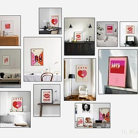 In Blank Gallery - Valentine Love Posters