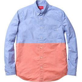 Supreme - Split Shirt Blue