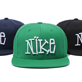 Stussy × Nike - S&S Collection SOLID SNAPBACK BALLCAP