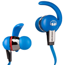 Monster Cable - iSport Immersion MH ISRT2 IE BL CT(ブルー)