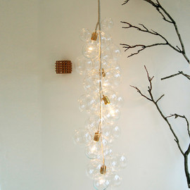 bubble chandelier