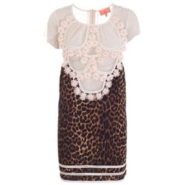 MANOUSH - MANOUSH LEOPARD DRESS