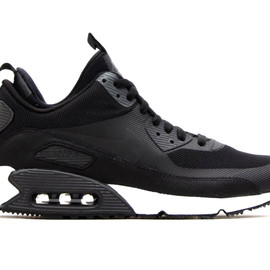 NIKE - Air Max 90 Sneakerboot Black/Dark Charcoal-White