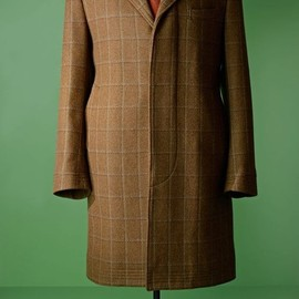 David Saxby - Tweed covert coat