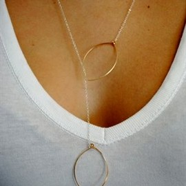 Hallelu - lariat necklace