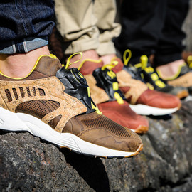 "PUMA - Disc Blaze ""Leather Cage Crafted Pack"""