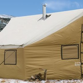 Cabela's Montana Lodge Tent with Frame by Montana Canvas