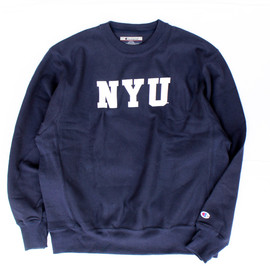 Champion - NYU/Crew Neck Sweat (Reverse Weave)