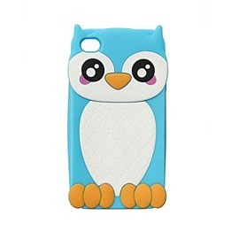 Owl Rubber iPhone 4/4S Case