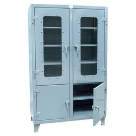 Strong Hold - Combination Clearview and Solid Door Model