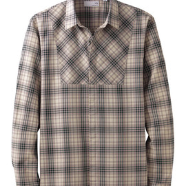 UU - UU Check long sleeve shirt B+E
