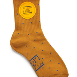 MY LOADS ARE LIGHT - Dot Sox (mustard)