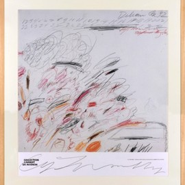 Cy Twombly - Collection Lambert / signed poster