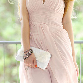 fashion - Image of [grzxy6600269]Elegant Simple Pure Color Strapless Party Dress