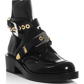 BALENCIAGA - The cut-out ankle boots